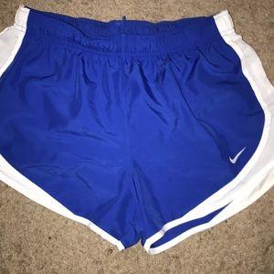 Blue nike shorts! Size medium!